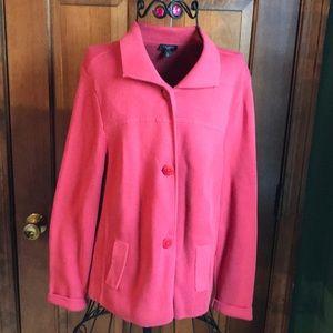 Talbots Sweater Jacket L Petite